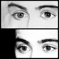 Zayn's Eyes by ygine