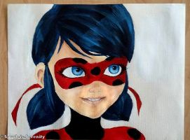 Ladybug Painting by Sarah-is-Serenity