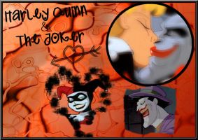Harley Quinn and the Joker TAS by fannychichou