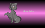 Graystripe :) by Violetstream