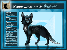Moonstar - MoonClan : Ref sheet by little-space-ace