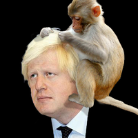 Boris Johnson in his free time by Djmadmole