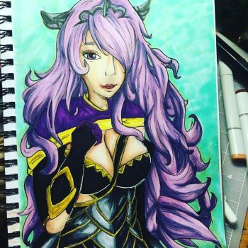 Fire Emblem Fates Camilla by Sniffy678578