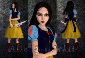 Alice SnowWhite game mod by Brusya