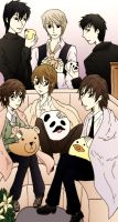 Junjou Romantica Group by xxx-TeddyBear-xxx