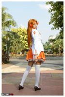 Winter Uniform Mirai Suenaga by luckysevenstars