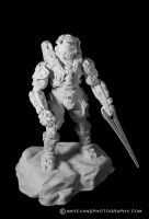 Halo 4 Master Chief Sculpt 1 by xar8