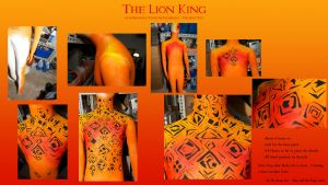 Lion King Scar Costume WIP 1 by Kem2000