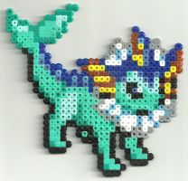 New Vaporeon by Ravenfox-Beadsprites