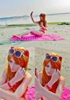 You can (not) go to Okinawa, Asuka by MaryjaneDesignStudio