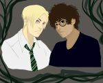 Harry and Draco (version one) by XhiddyX
