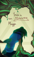 something about being a monster by Naashi