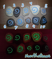 Hearthstones (For Sale) by Savvy-Cat