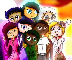 The Full Team by ANNE14TCO