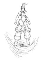 Korra changes by Sketchydeez