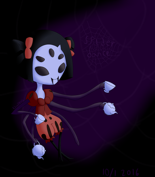Muffet Undertale by than9803