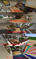Inside my Minecraft House Part 2 by RavenFeather207