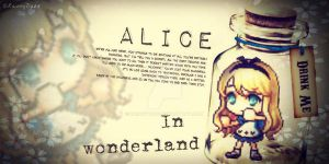 Alice in a bottle by RainnyDaze