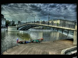 The Lover's Bridge HDR by ISIK5