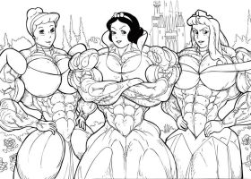 disney princesses by rssam000