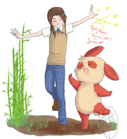 POKETALIA - China + Spinda by TheJenMonster