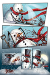 Zenescope Frosty Page 8 by SarahPerryman