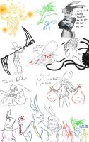 Rotg sketches by SkitzOpheliac