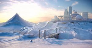 Mountain Refuge by MikeMS