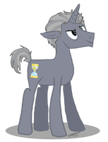 12th Doctor Pony by AllysonCarver
