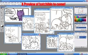 Batchibi Preview by OrangeBlueCream