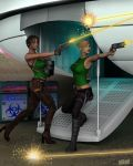 Space Smugglers by twosheds1