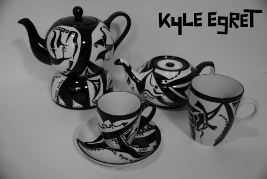 Porcelain Series 'Constellation 3' by Kyle Egret by KyleEgret