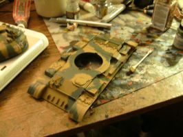 Trumpeter 1/35 modded T-55 wip 2.5 by DelosQAndrews