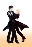 a ballroom dancing by soypepsi