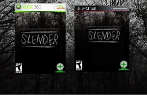 SLENDER (PS3 and 360 box art) by StarchasersDream