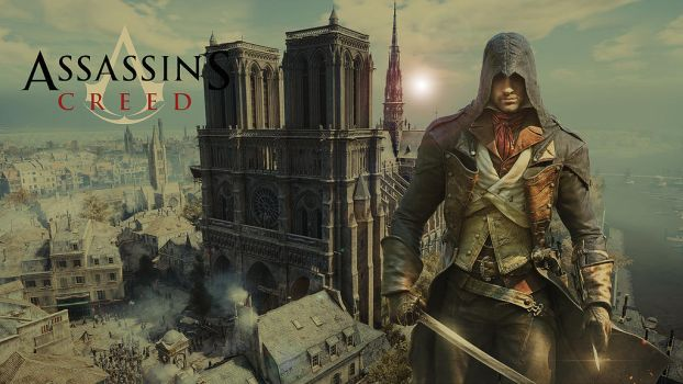 Arno - Assassin's Creed Wallpaper II by vampirekingdom