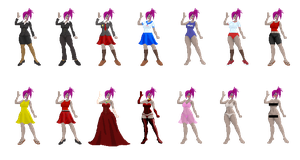 Outfit Concepts: Just for Fun by XerkyleReizem