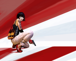 Mirror's edge by amaeli