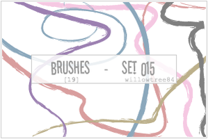 brushes - set 015 by willowtree84