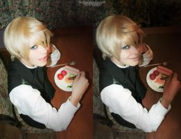 Alois Trancy:breakfast by KodziLi