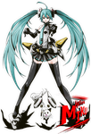 Retro Miku by ComiPa