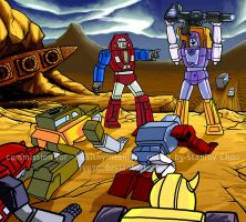 Huffer and Gears comm - color by ryuzo