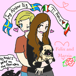 Felix and Marzia by The-BearSweg
