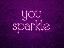 You Sparkle by Textuts