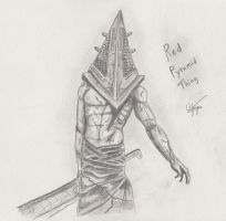 red pyramid thing sketch by Synergy14