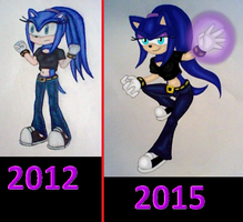 2012 to 2015 by GothNebula