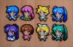 Chibi Vocaloids by Aenea-Jones