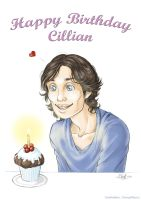 Happy Birthday Cillian Murphy by ConnyChiwa