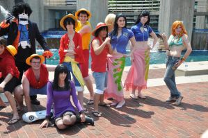 Outdoor Otakon One Piece Shoot by all-sunday
