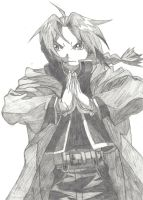 Edward Elric by GSPC14